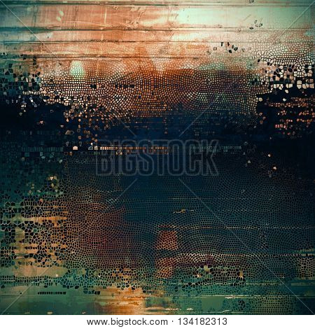 Grunge texture, detailed macro closeup, vintage composition. With different color patterns: yellow (beige); brown; green; blue; cyan; black