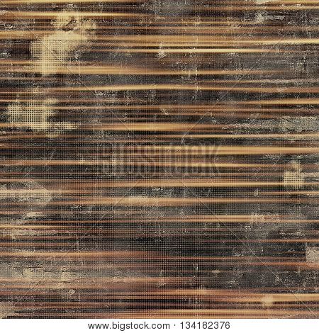 Vintage decorative background, antique grunge texture with different color patterns: yellow (beige); brown; gray; black