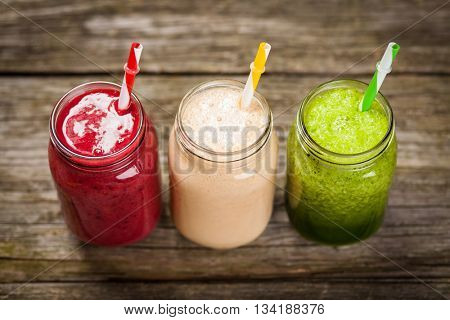 Milkshakes and smoothies