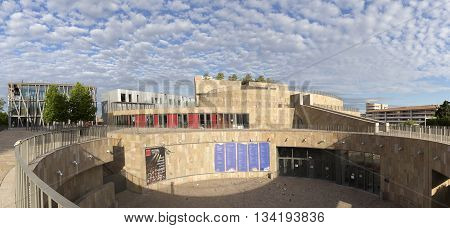 New Grand Theatre De Provence And Black Flag Theater In The New Area Sextius Mirabeu