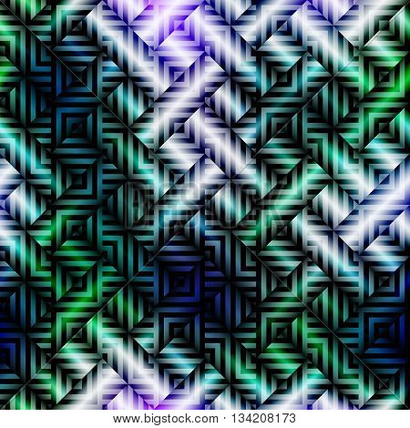 Seamless background pattern. Abstract plaid diagonal pattern.