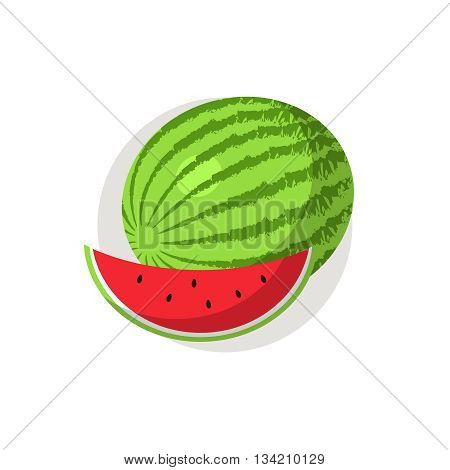 Watermelon icon. Watermelon icon flat. Watermelon icon art. Watermelon icon flat illustration. Watermelon icon vector. Watermelon icon vector image.