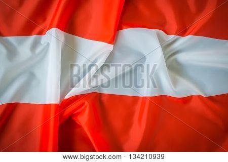 Flag of Austria .