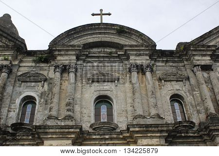 Century old christian Church in Taal Batangas, Philippines