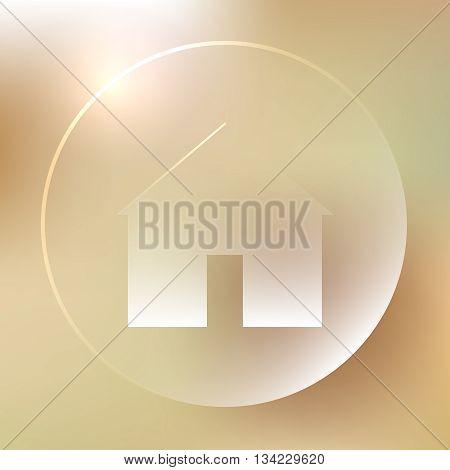 Home Glassy Icon