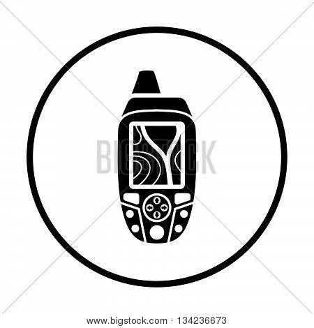 Portable Gps Device Icon