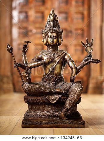 Shiva God Statuette