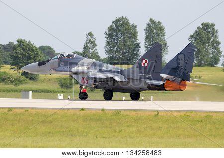 Mig-29 Take Off