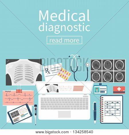 Medical Diagnostics Concept.