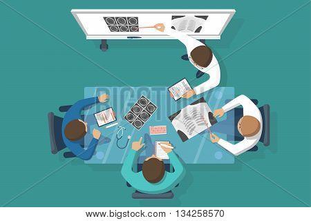Training Medical, Vector