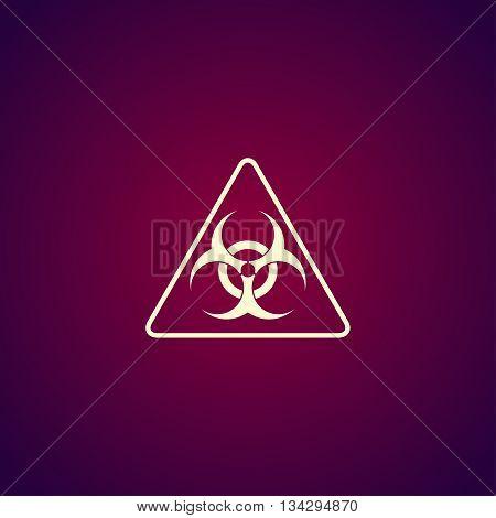 Vector Biohazard Sign Or Icon