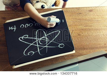Childhood Drawing Kindergarten Knowledge Skill Concept
