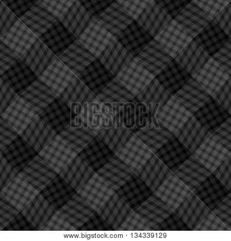 Abstract seamless linear pattern with diagonal dark broken lines