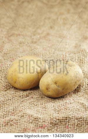 Close Up Of Potatoes