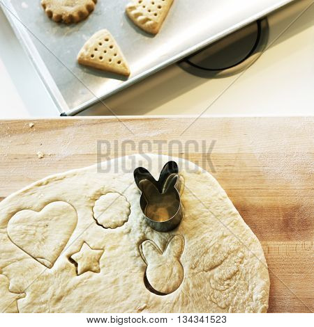 Bakery Cookie Cooking Delicious Biscuits Concept