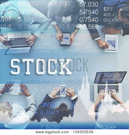 Stock Exchange Banking Finance Investment Concept