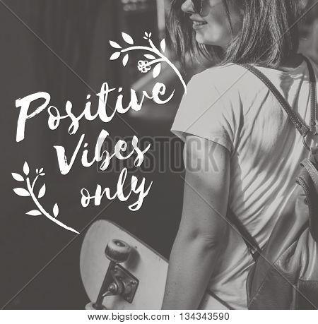 Positive Attitude Motivation Inspiration Thinking Concept