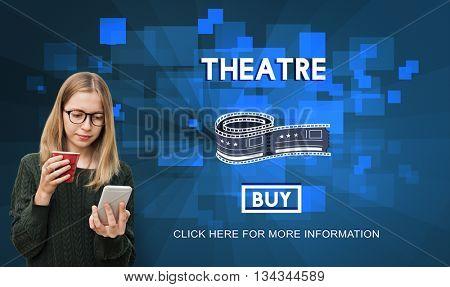 Theatre Theater Cinema Film Hall Audience Concept