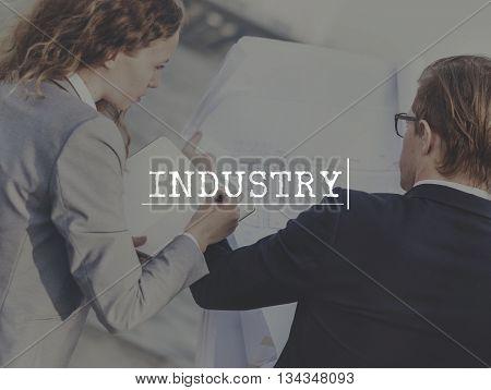 Industry Engineering Productivity Engineer Concept