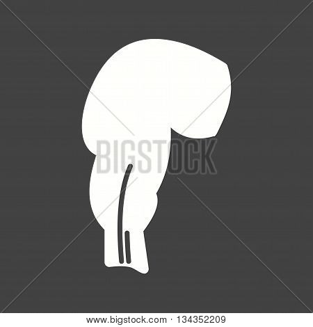 Intestine, rectum, human icon vector image. Can also be used for human anatomy. Suitable for mobile apps, web apps and print media.
