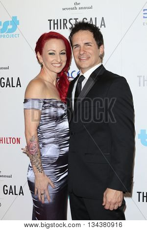 LOS ANGELES - JUN 13:  Summer Soltis, Hal Sparks at the 7th Annual Thirst Gala at the Beverly Hilton Hotel on June 13, 2016 in Beverly Hills, CA