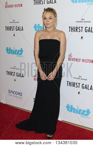 LOS ANGELES - JUN 13:  Kelli Berglund at the 7th Annual Thirst Gala at the Beverly Hilton Hotel on June 13, 2016 in Beverly Hills, CA