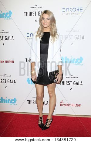 LOS ANGELES - JUN 13:  Grace Helbig at the 7th Annual Thirst Gala at the Beverly Hilton Hotel on June 13, 2016 in Beverly Hills, CA