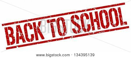 Back To School Stamp. Vector. Stamp. Sign. Back.to.school. Red.