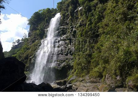 Bomod Ok Waterfall (Big Falls) in Sagada, Luzon, the Philippines