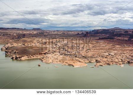 Hite Marina Campground On Colorado River In Glen Canyon National Recreation  Area