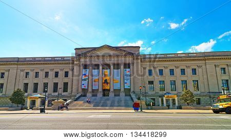 Franklin Institute In Benjamin Franklin Parkway In Philadelphia