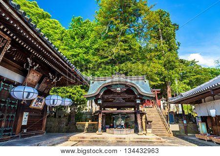 Nigatsu-do, a hall of Todai-ji temple in Nara, Japan
