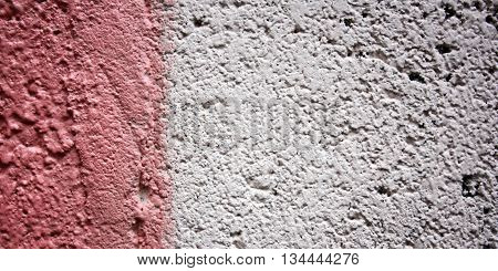 Old pink wall background. Copy space for text. Aged photo. Color wall macro background. City building texture. Toned effect. painted wall close up. Retro filter. Wide photo for web site slider.