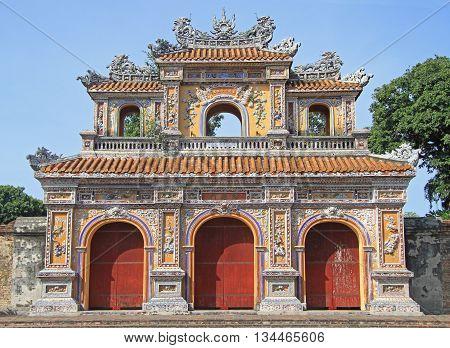 Structures Of Hue Citadel Complex
