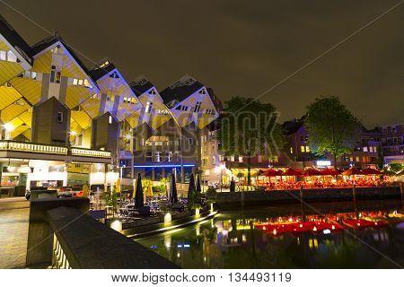 Rotterdam, Netherlands - 24 MAY 2015: Historical