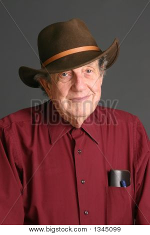 Man Wearing Hat