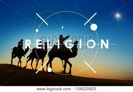Religion Believe Faith Hope Trust Concept