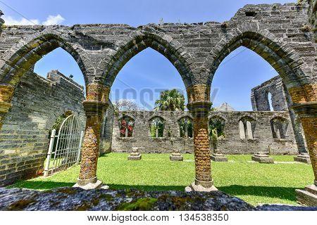 Unfinished Church - Bermuda