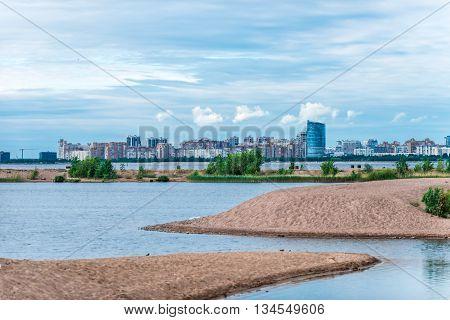 City Beach In Spring
