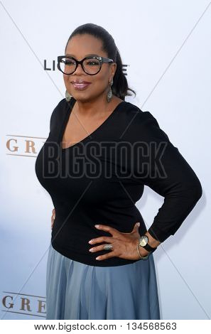 LOS ANGELES - JUN 15:  Oprah Winfrey at the Greenleaf OWN Series Premiere at the The Lot on June 15, 2016 in West Hollywood, CA