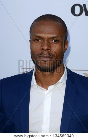 LOS ANGELES - JUN 15:  Deji LaRay at the Greenleaf OWN Series Premiere at the The Lot on June 15, 2016 in West Hollywood, CA