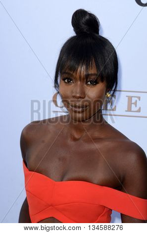 LOS ANGELES - JUN 15:  Anna Diop at the Greenleaf OWN Series Premiere at the The Lot on June 15, 2016 in West Hollywood, CA