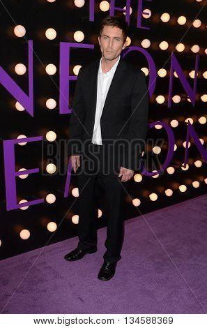 LOS ANGELES - JUN 14:  Desmond Harrington at the The Neon Demon Premiere at the Cinerama Dome on June 14, 2016 in Los Angeles, CA
