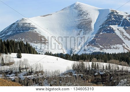 The beautiful Telluride in Colorado, March 2016
