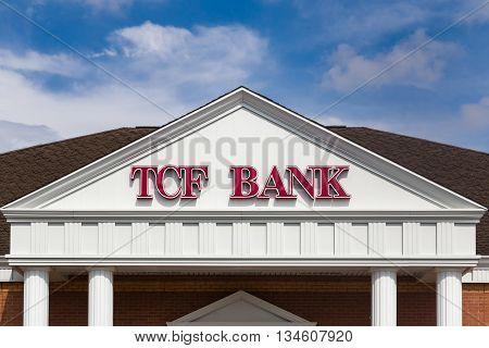 Tcf Bank Exterior And Logo