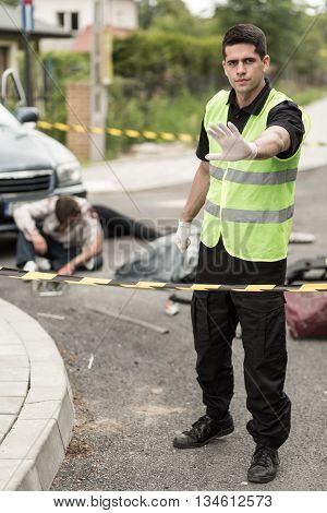 Roadside Assistance Worker
