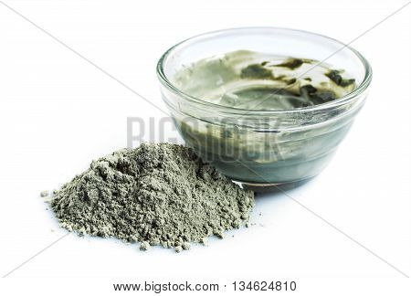 Blue Cosmetic Clay