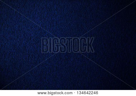 Blue Abstract Leather Background