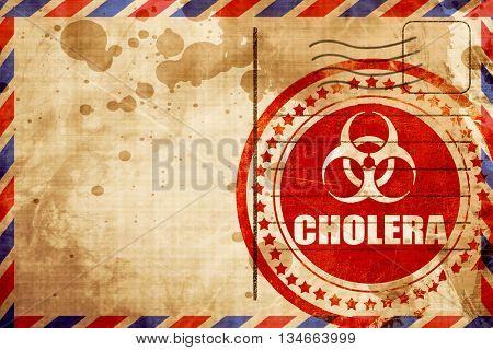 Cholera concept background
