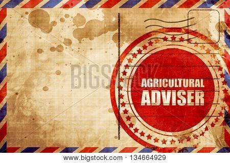 agricultural adviser